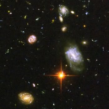 Gravetapping: Hubble Space Images: Deep Space