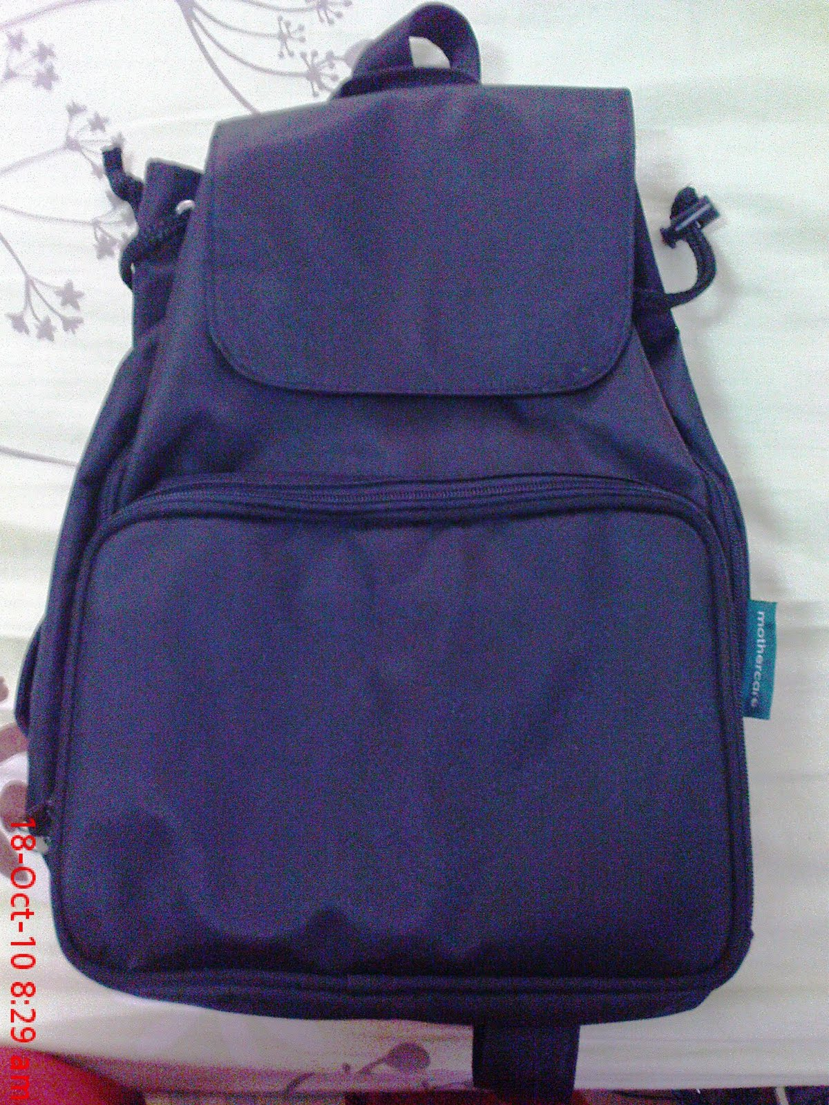 Colourful Mothercare Backpack Diaper Bag