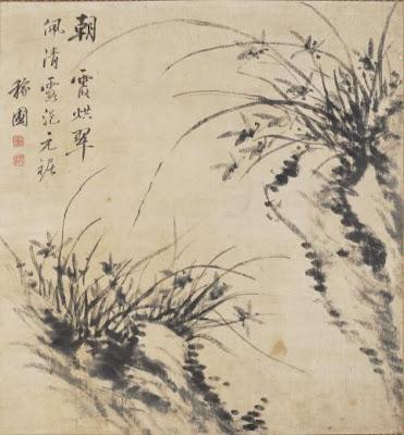 長崎ノート: 江稼圃『墨蘭図』