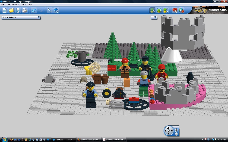 Direct - Lego Digital Designer | Team OS : Your Only