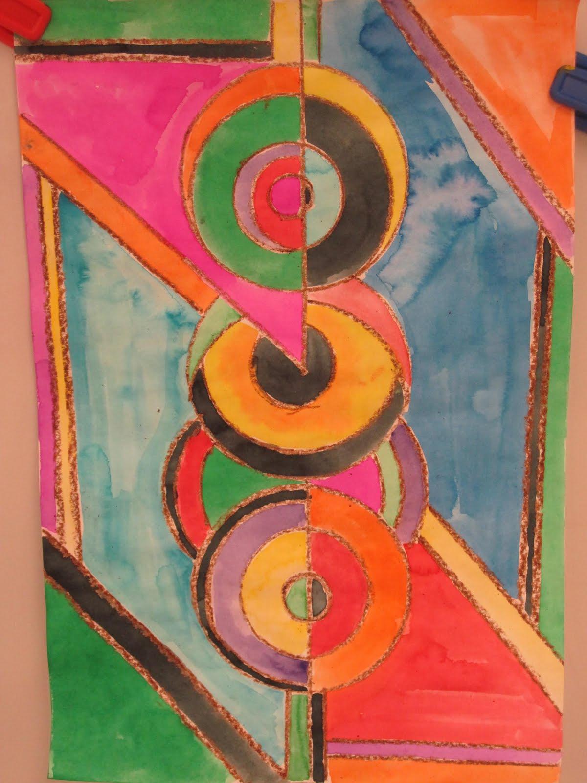 asymmetrical abstract art