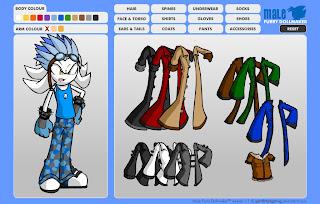 Crea Personajes tipo Sonic