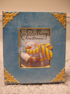 Christmas Frame Quick and Easy
