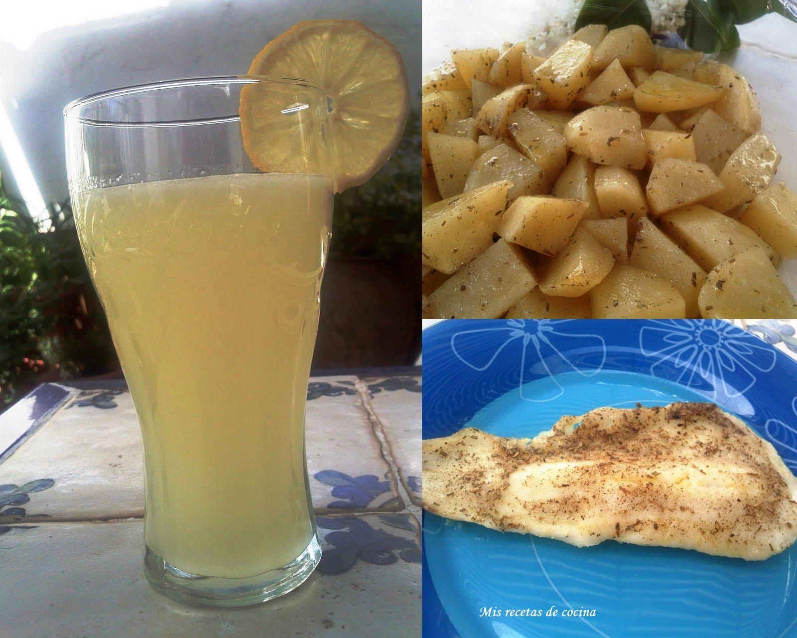 Mis recetas de cocina pescado patatas al microondas con - Pescado al microondas facil ...