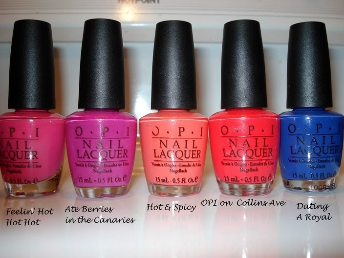 Productrater Opi Notds Feelin Hot Hot Hot Hot Amp Spicy Ate Berries In The Canaries And More