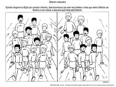 Resultado de imagem para José e seus irmãos para crianças