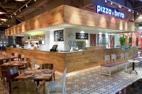 Pizza e birra restaurant