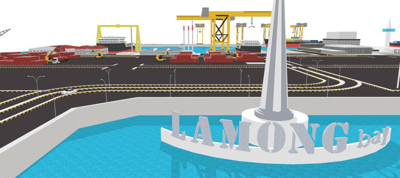 LAMONG BAY International Container Terminal: Teluk Lamong