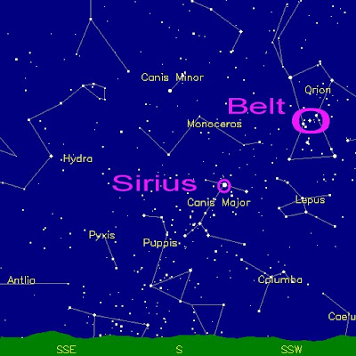 sirius star map by the dippers - photo #8