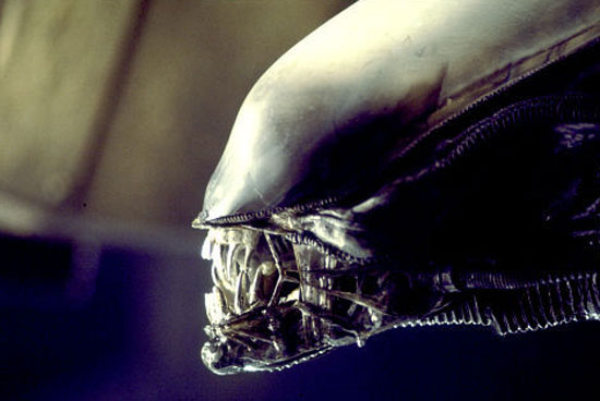 The xenomorph, or Lacanian 'lamella' of Ridley Scott's 'Alien' (1979)
