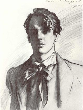 Sketch of W. B. Yeats. Article on William Butler Yeats and Modernism
