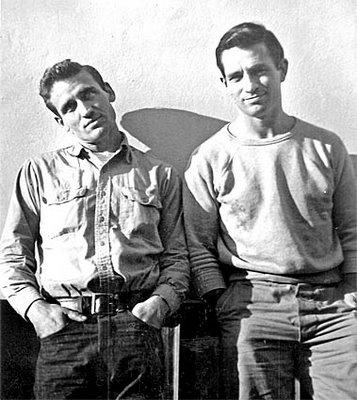 Neal Cassady and Jack Kerouac