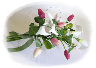 Artificial Wedding Flowers and Bouquets  Australia: Wedding Flower Arrangements of Calla Lilies
