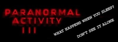 Paranormal Activity 3 Movie - Sequel to Paranormal Activity 2
