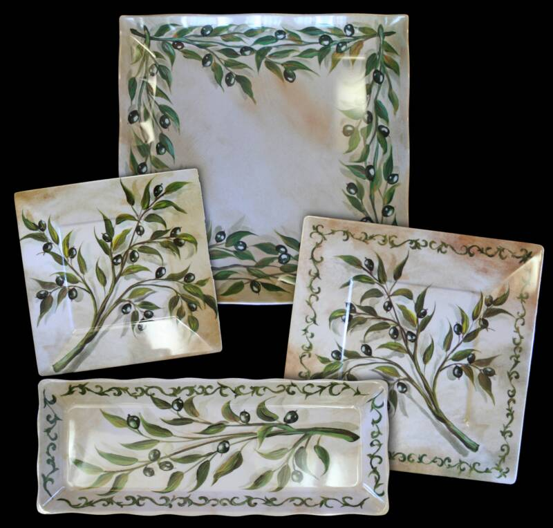 Old Sweetwater Cottage Olive Garden Decor