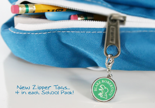 Back to School} Label Daddy Zipper Tags Review - DustinNikki