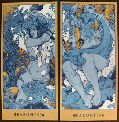 INSIDE THE ROCK POSTER FRAME BLOG: BARONESS BLUE ALBUM ...