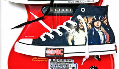 Art of posters: ACDC x Converse Chuck Taylor All Star Pack