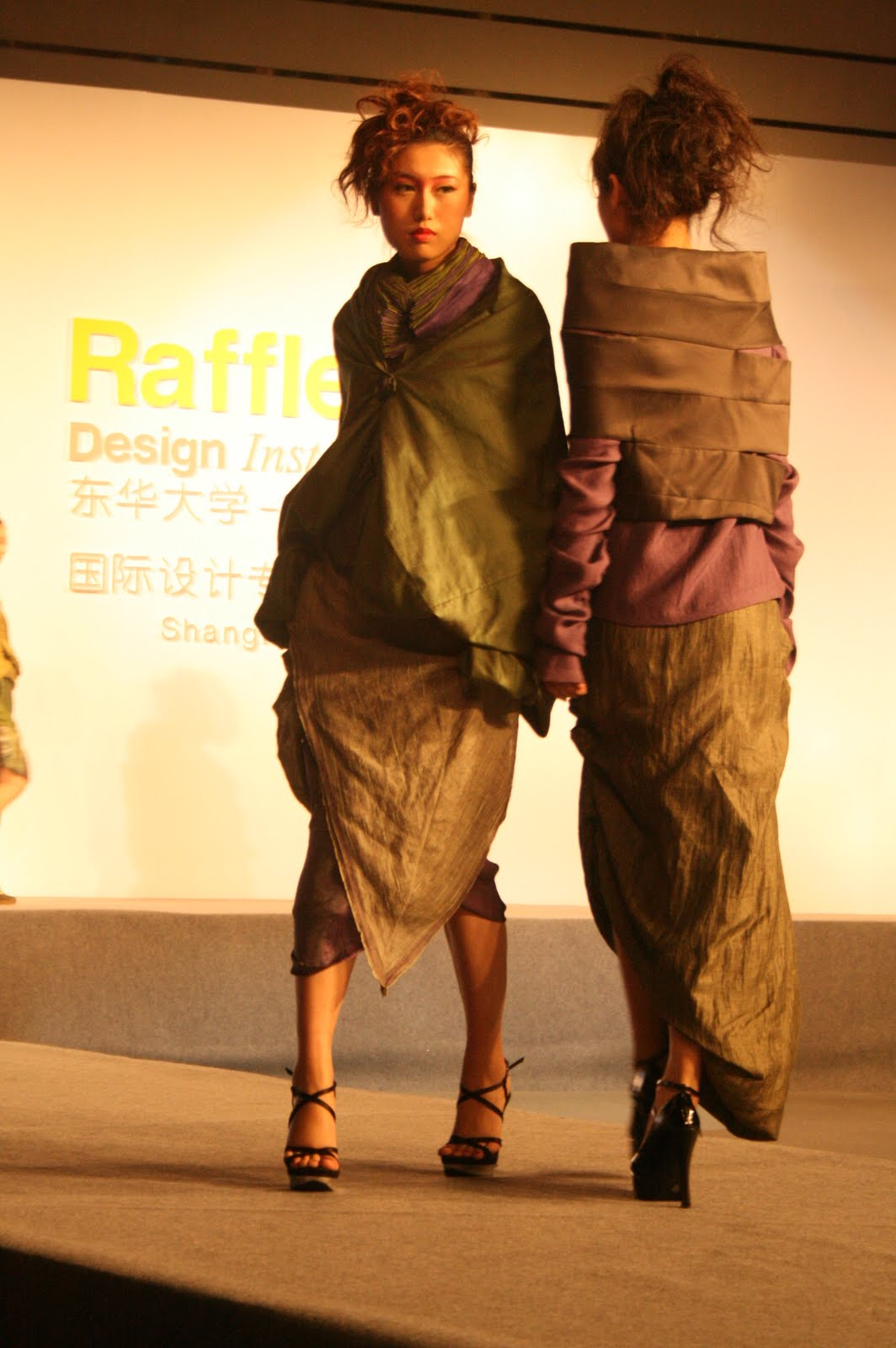 Raffles Design Institute Shanghai Graduates Fashion Show Beauty Fashion Design