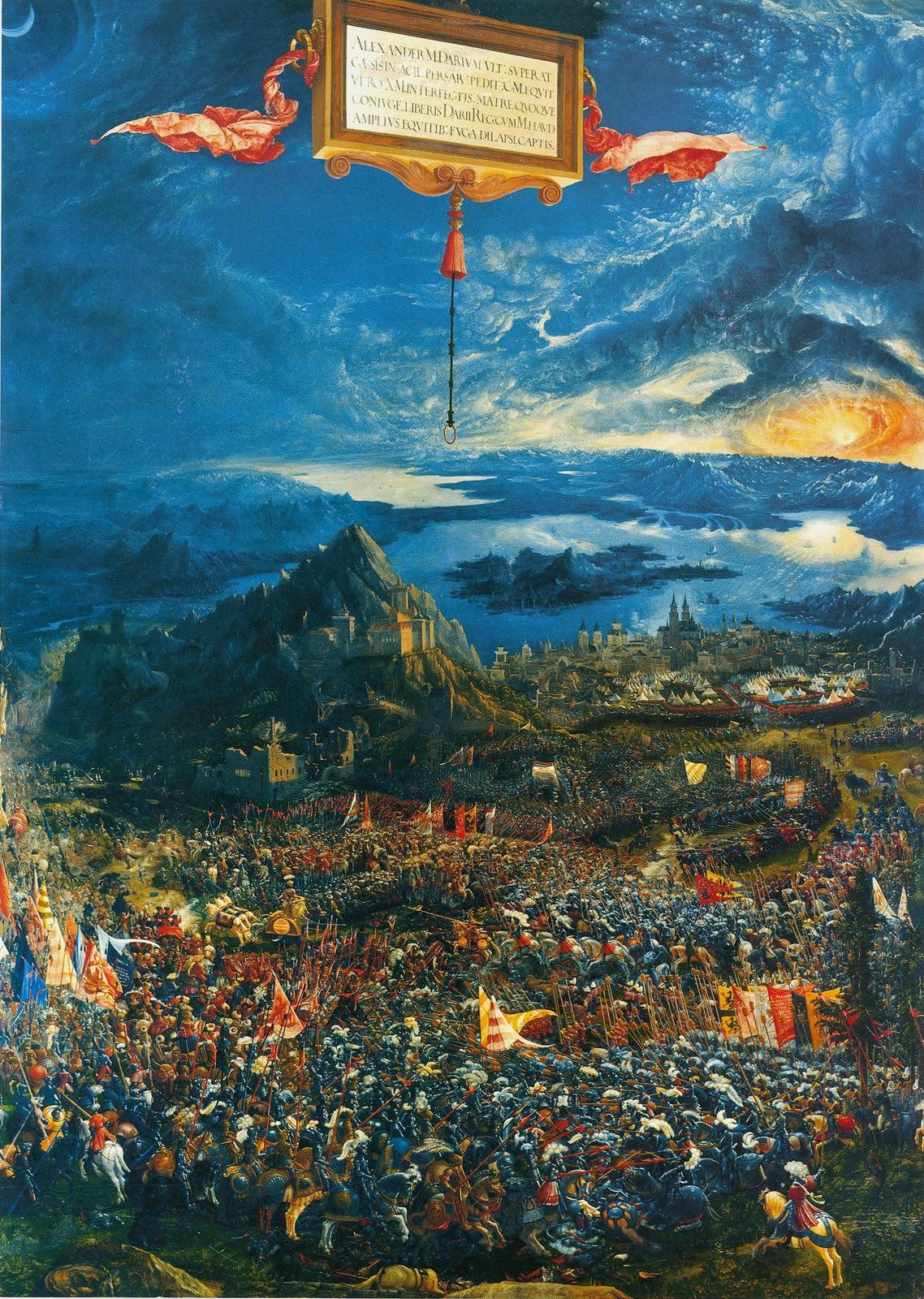 Art Amp Culture 104 Battle Of Issus Altdorfer