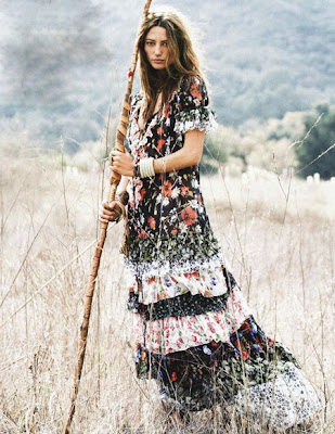 Hippies, Bohemians, Gypsies, Fashion, hippy fashion, boho, bohemian fashion