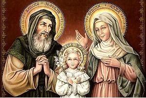 São Joaquim, Nossa Senhora, Santa Ana