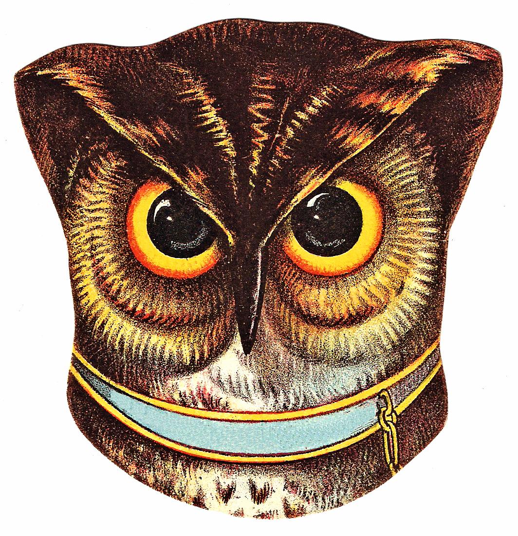 Vintage Halloween Owl Clip Art | Wallpapers Gallery