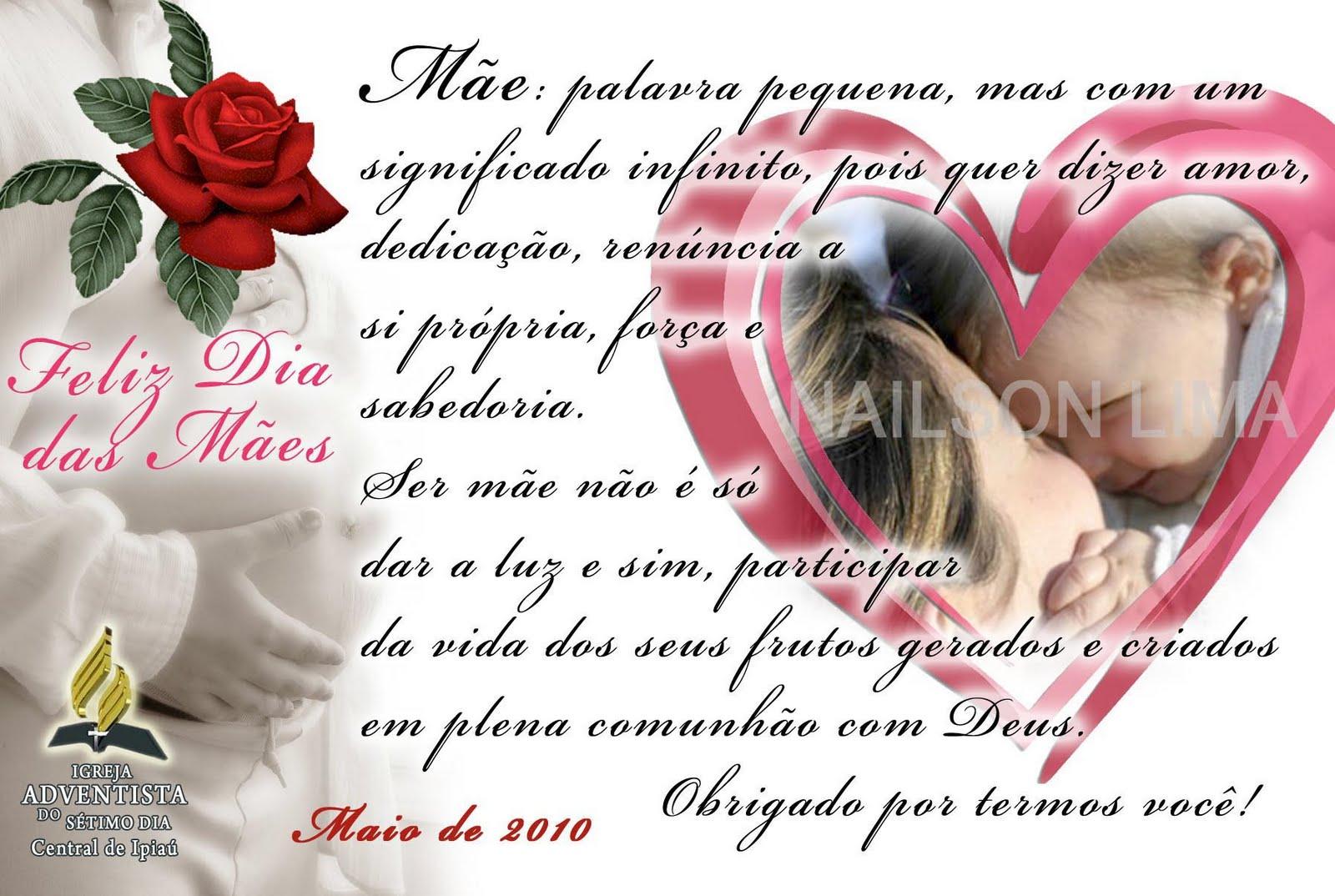 Imagens Bíblicas Para O Dia Das Mães: Minhas Montagens: Cartão Dia Das Mães