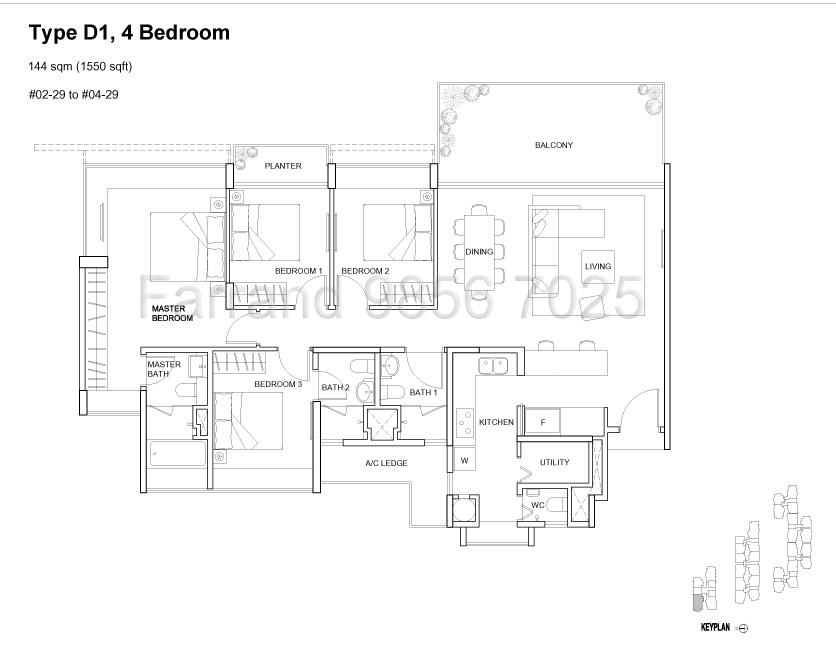 Terrene@Bukit Timah: Floor Plans
