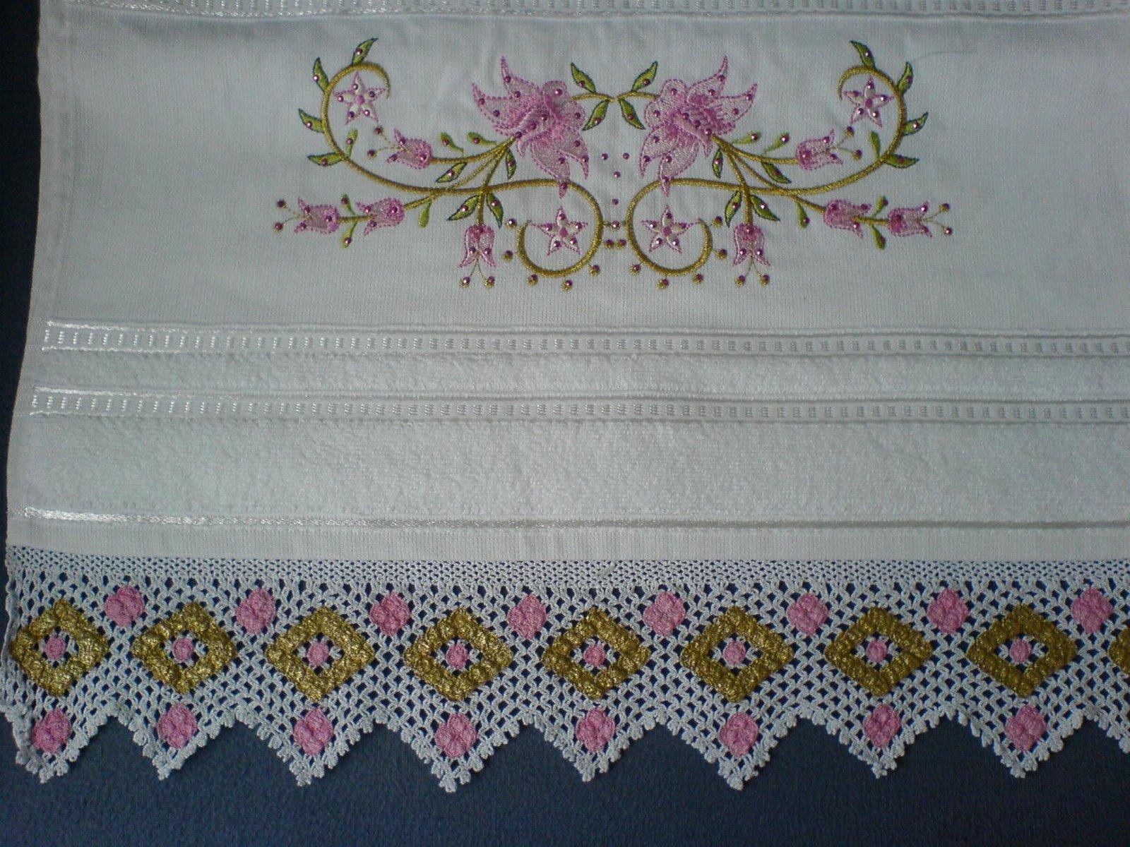 boyama nakış havlu