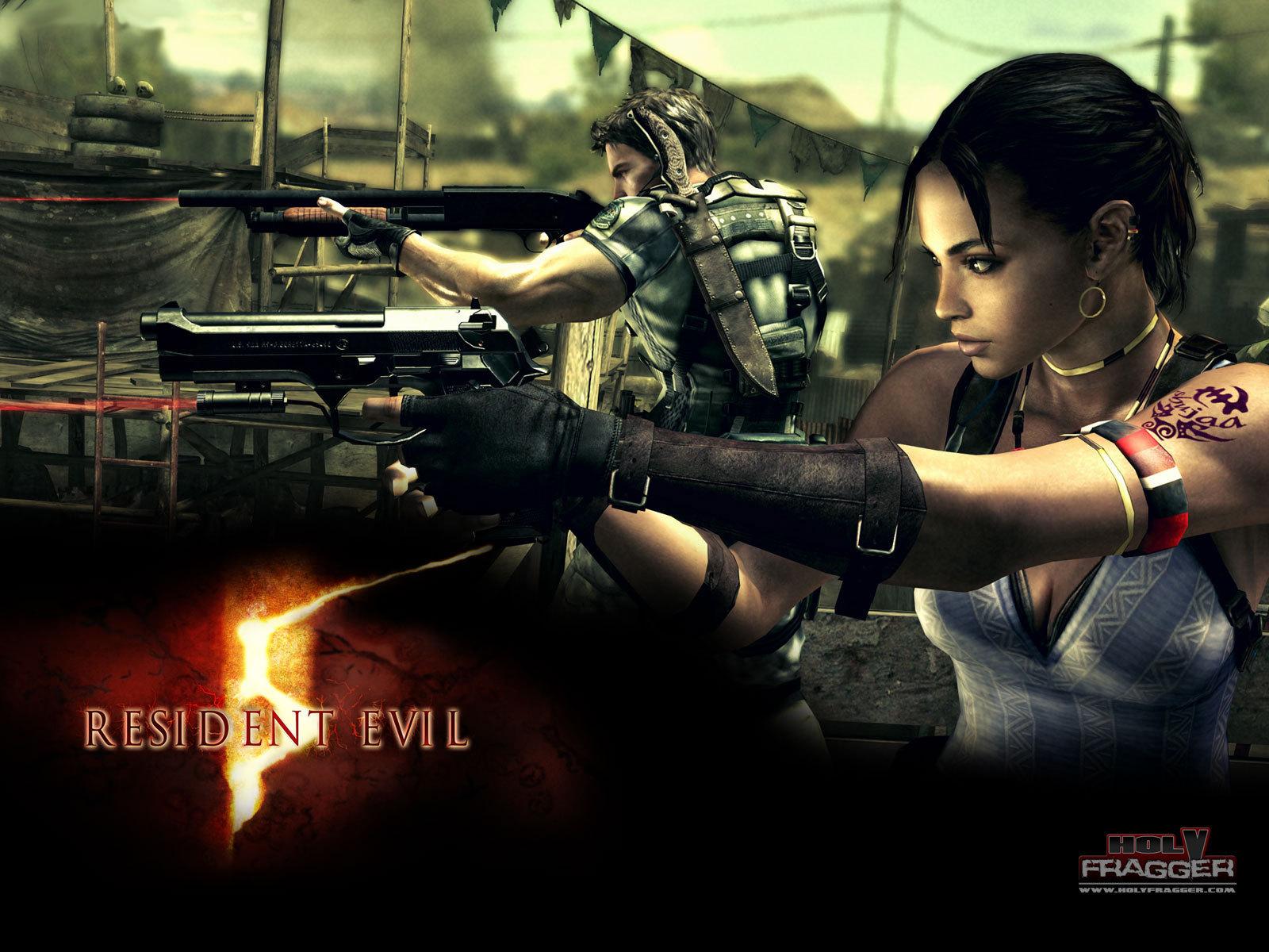 Resident Evil 5 Игры Обои и фото.