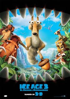Ice Age 3. El origen de los dinosaurios - Cartel