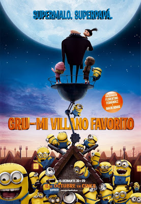 Gru Mi villano favorito - Cartel