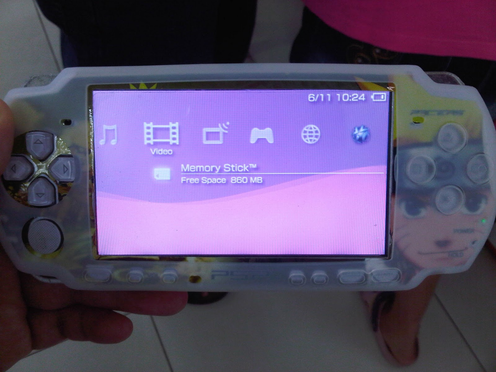 Tea Time with Me : PSP At Last