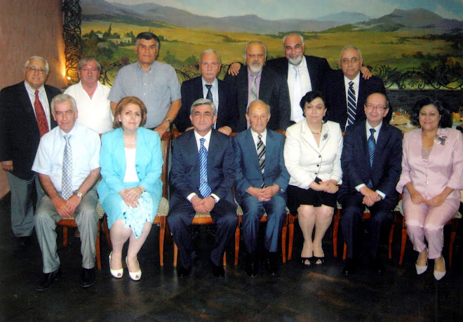 2010 Writers' Union of Armenia - Representatives of Spyurkahay Reunion From Across The World