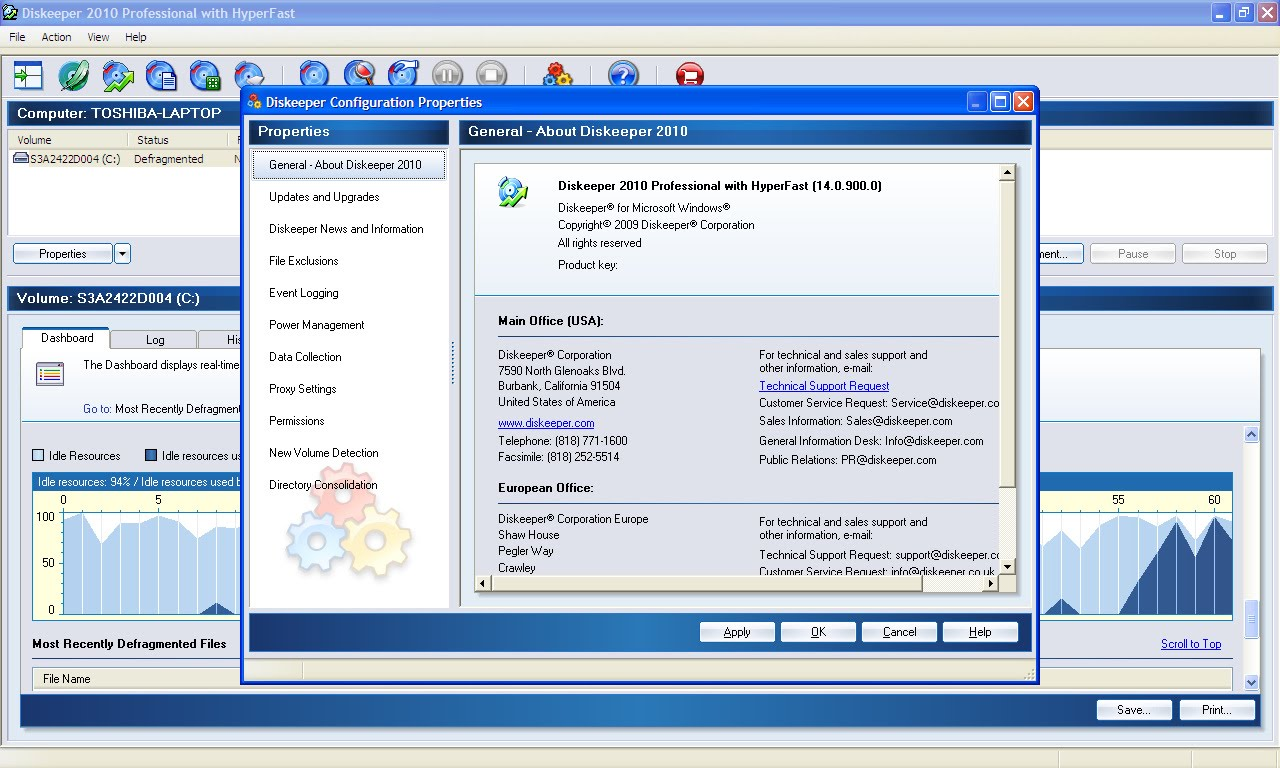 diskeeper gratuit windows 7