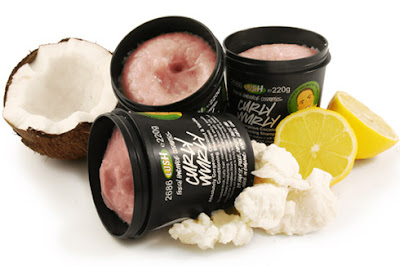 ...lush: shampoos curly wurly und big
