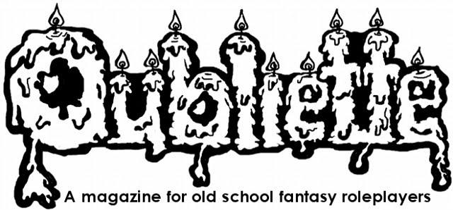 Oubliette Magazine: March 2014