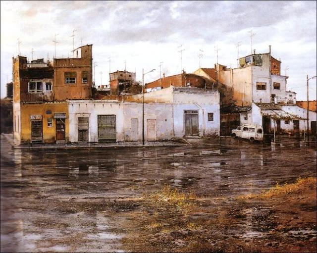Pintor autodidacta, Francisco Mir Belenguer, Paisjes, Pintor español, Pintura realista, Pintores de  Benimàmet, José Garnería, Alex Alemany