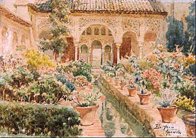 Enrique Marín Sevilla, Paisajistas españoles, Pintores españoles, Pintores Garandinos, Pintor español