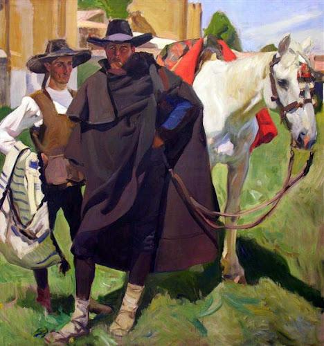 Tipos Segovianos, Joaquín Sorolla Bastida, Joaquín Sorolla Bastida, Retratos de Joaquín Sorolla, Joaquín Sorolla, Pintor español, Retratista español, Pintores Valencianos