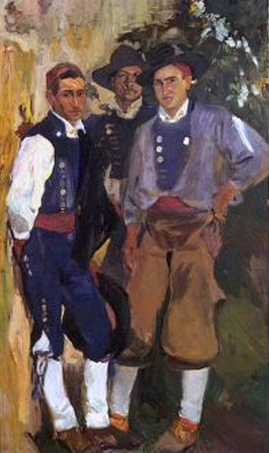 Tipos de Aragón, Joaquín Sorolla Bastida, Joaquín Sorolla Bastida, Retratos de Joaquín Sorolla, Joaquín Sorolla, Pintor español, Retratista español, Pintores Valencianos