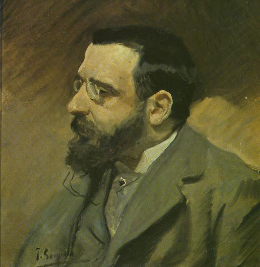 Augusto Comas y Arquer,  Joaquín Sorolla y Bastida, Retratos de Joaquín Sorolla, Joaquín Sorolla, Pintor español, Retratista español
