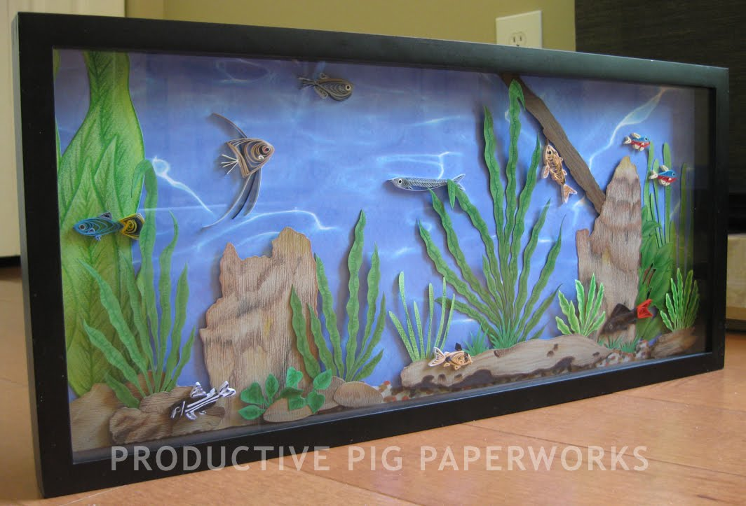 Productive Pig Paperworks Fresh Water Fish Tank