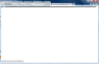 Internet Explorer displays a blank page while accessing Web