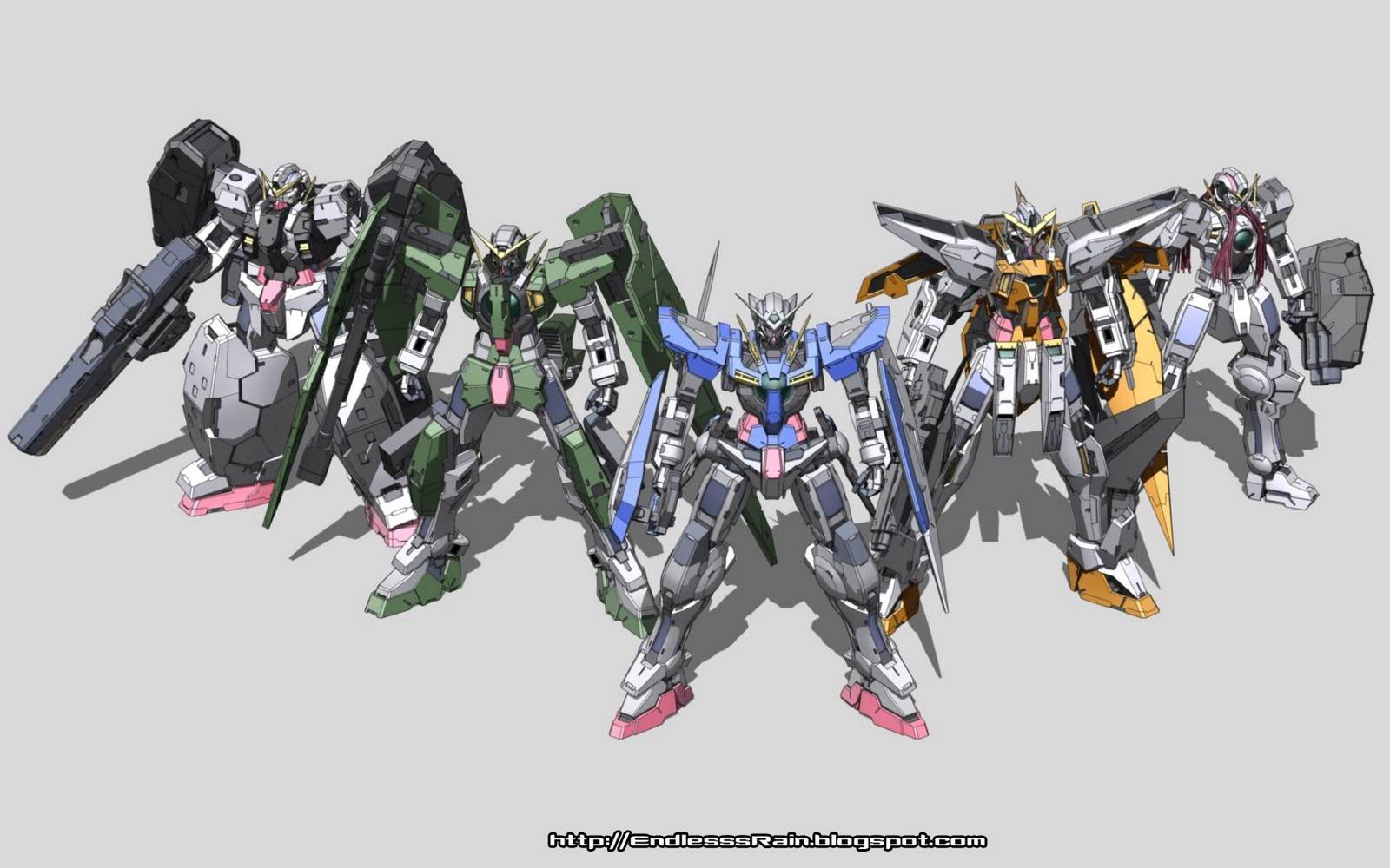 wallpaper: Wallpaper De Gundam 00
