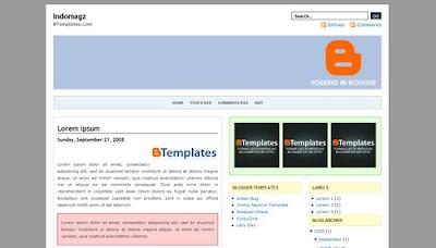 template, blogspot, blogger