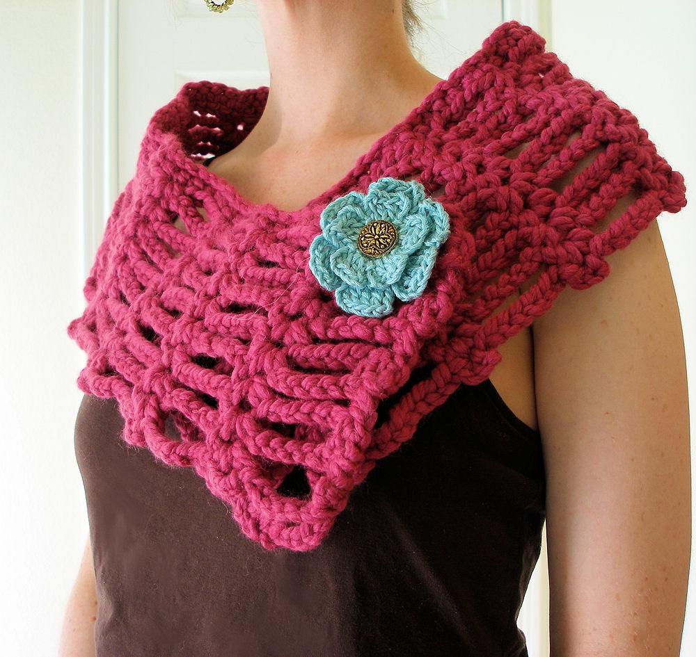 Beginner Crochet Shawl Crochet For Beginners