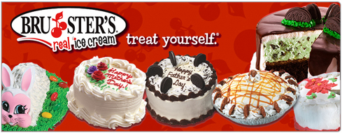 Brusters Ice Cream Cake Cost