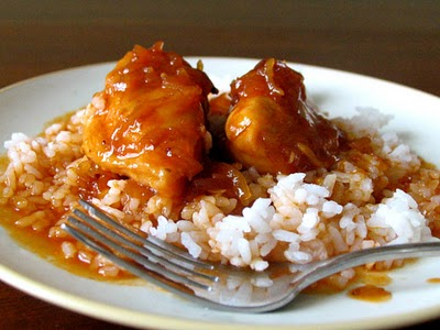 Barely Domestic But Trying Apricot Or Plum Chicken Amp Rice